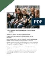 Tinerii Talentati Si Inteligenti Prefera Muzica Metal (Studiu)