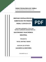 UTP Reporte Estadia Tamariz