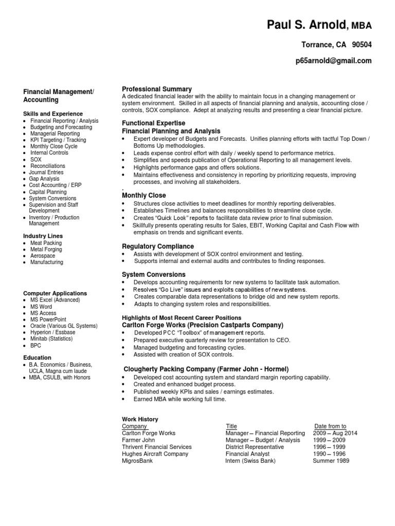 Film costume designer resume