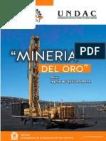 Mineria Del Oro en Sus Epocas