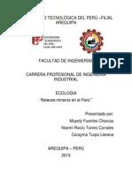 Relaves mineros en el Perú