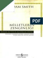Adam Smith - Milletlerin Zenginliği