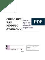 Tema 2. Análisis Tipos de Flujos en Obras de Ingeniería I