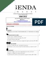 Agenda Semanal 2012-28