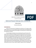 Net Based Interpretive Methods