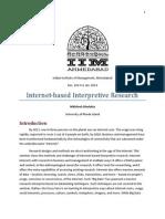Net Based Interpretive Methods