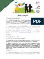Maratona Da Cidadania 2014- Regulamento