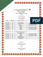 IV Sapphire Class Program