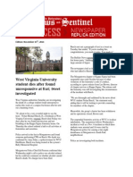 parkersburg news and sentinel november 15th 2014