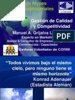 Gestion de Calidad y Competitividad Manuel Grijalva