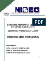 Codigo Etico de los Ingenieros Industriales en la Universidad del SABES..docx