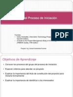 Proceso de iniciación de un proyecto