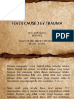 Fever Caused by Trauma