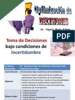 02 Decisiones Bajo Incertidumbre