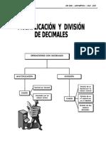 II BIM - ARIT - 2do. Año - Multiplicación y Divisió