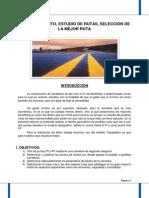 I Informe de Caminos UNC