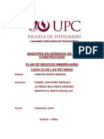 Plan de Negocio Residencial Las Retamas Finafinall