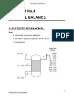 3 Material Balance