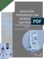 Trabajo (Aplicacion Topografica Con Tecnologia Electronica)