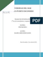 Segunda Ley de La Termodinámica y Maquinas Térmicas