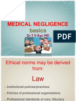 Medical Negligence Basics