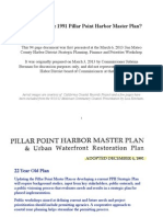 Why update the 1991 Pillar Point Harbor Master Plan?