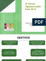 El Censo Agropecuario en El Peru 2012