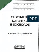 Vesentini, j.w. Geografia,Natureza e Sociedade
