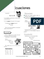 (01) Ecuaciones