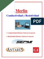 Conductividad y Resistividad TOTAL en EL CONCRETO