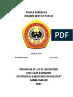 Tugas Akuntansi Sektor Publik (ASP)