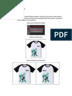 Assignment Sheet (Photoshop)