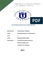 Los Partidos Politicos en El Peru 2000 - 2010