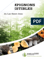 Guide Des Champignons Comestibles Du Lac-Saint-Jean_version 2