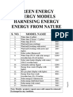 ALL in ONE Models Rate List