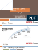 Group 11 Rfid at Metro