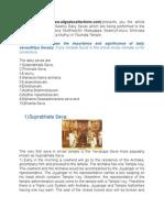 Tirumala Temple Daily Arjitha Sevas