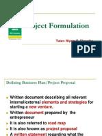 Project Formulation Niyam 2013