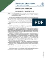 Orden sobre las nuevas nóminas publicada en el BOE