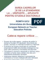 Galiucu 2013 - De La Standarde La Dispozitii Prof Iucu
