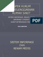 Aspek Hukum Rm, Ic