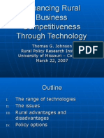 Business Competitiveness Through Technology