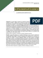 Ambrosano Giovanna - La Respirazione Empedoclea - AFC 6, 12 - 2012