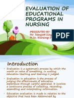 evaluationofeducationalprogramsinnursing-130309043334-phpapp02