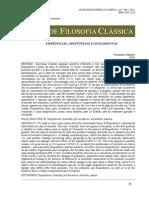 Santoro Fernando - Empédocles, Aristóteles e Os Elementos - AFC 7-12-2012