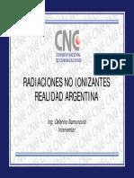 23.-Radiaciones No Ionizantes Realidad en Argentina