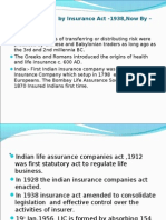 INSURANCE (Governed by Insurance Act -1938,Now by – IRDA Act-1999)