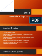 Kb Ppt 3 Komunikasi Dalam Organisasi