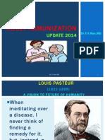 Adult Immunization 2014 Update