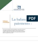 Exposé Balance Des Paiements - SUPPORT